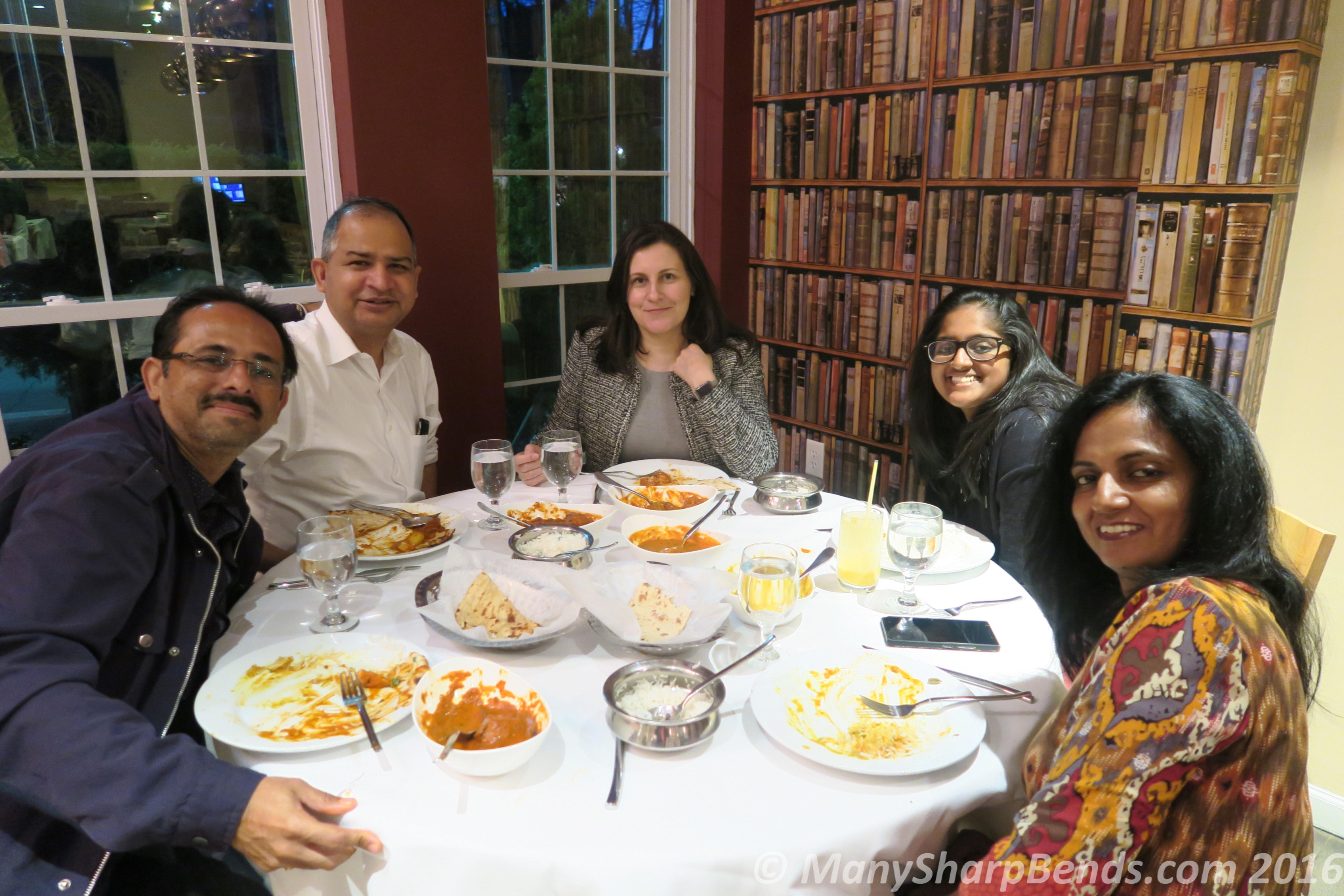 Greenwich Dinner