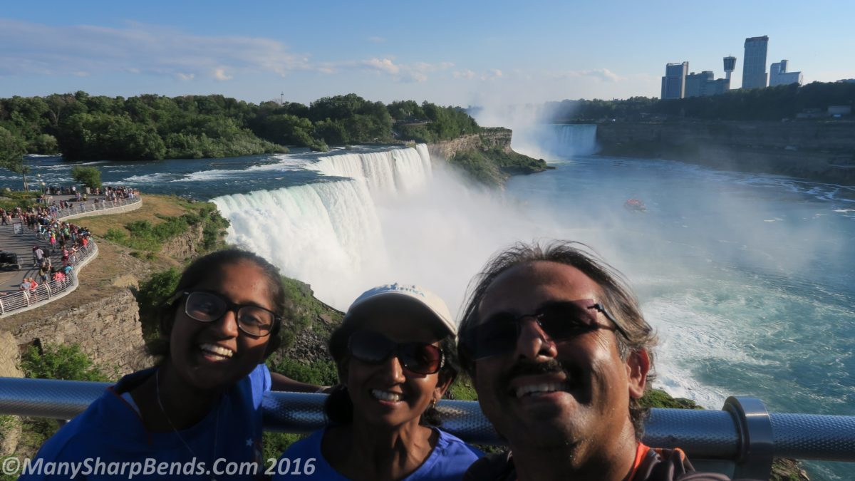 An Indian pilgrimage to Niagara Falls USA